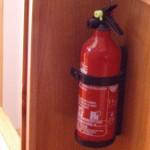 Meuble lavabo à la norme  avec protection incendie
